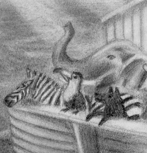 Elephant detail