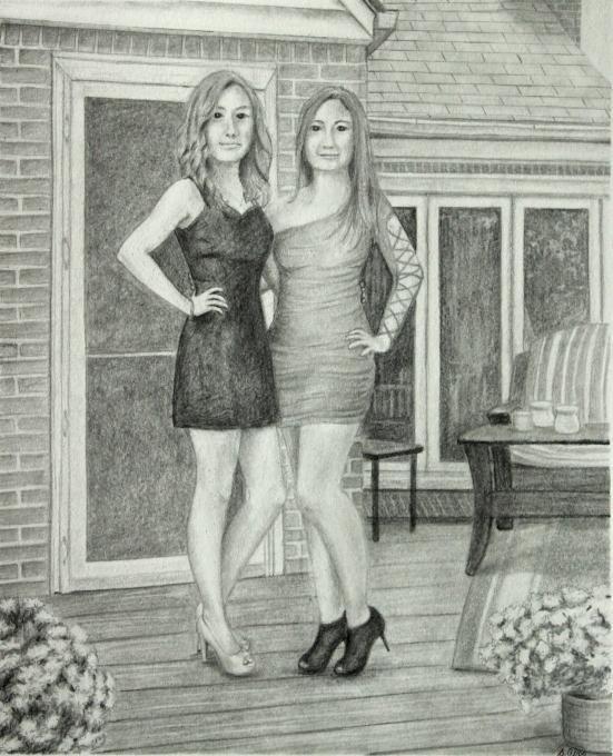 Girls, finished
