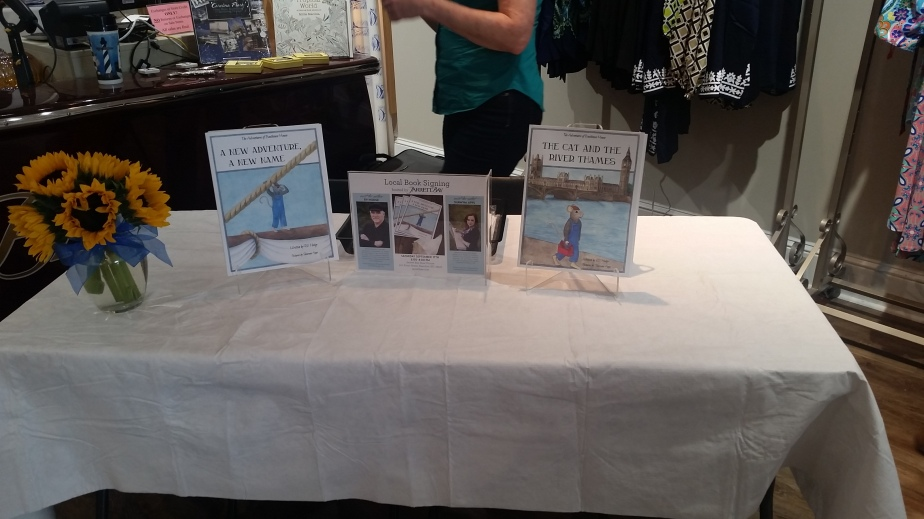 Our First BookSigning