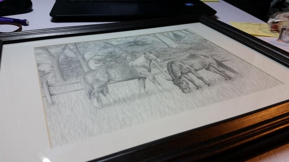 Behind the Scenes:Horses