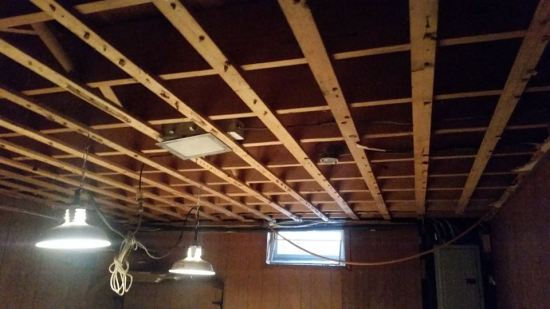 ceiling progress
